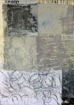 Decollagiertes Plakatmaterial auf Leinwand 70x50, 2014