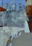 Decollagiertes Plakatmaterial auf Leinwand, 70x50, 2014