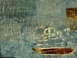 Mischtechnik auf Leinwand, 110 x 145